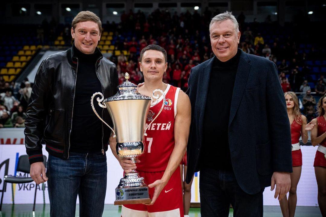 Денис Лукашов с Суперкубком