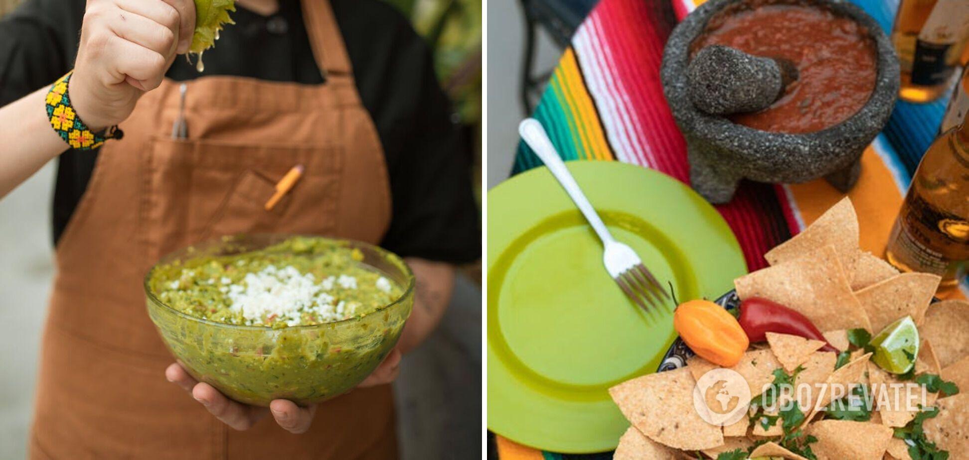 Приготовление острых мексиканских соусов