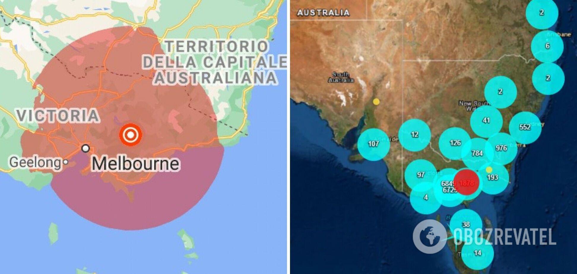 Очаг землетрясения залегал на глубине 2 км