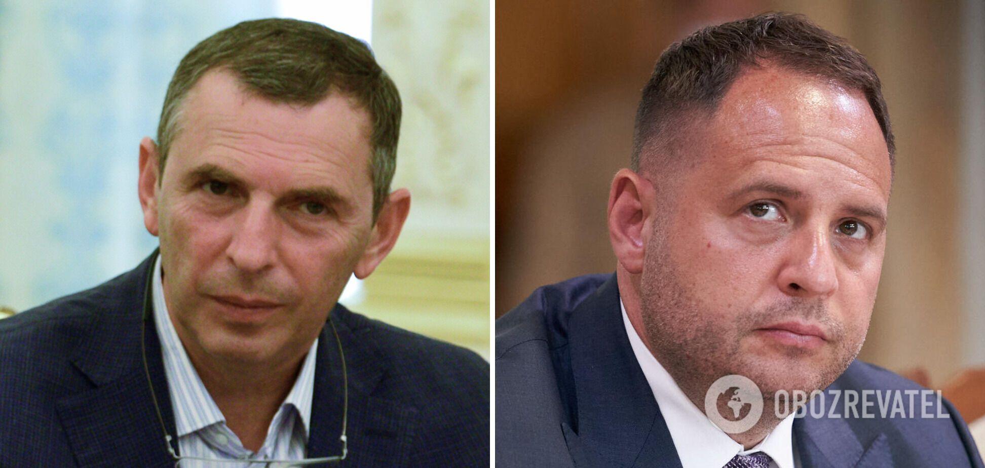 Журналисты сообщали о конфликте между Шефиром и Зеленским