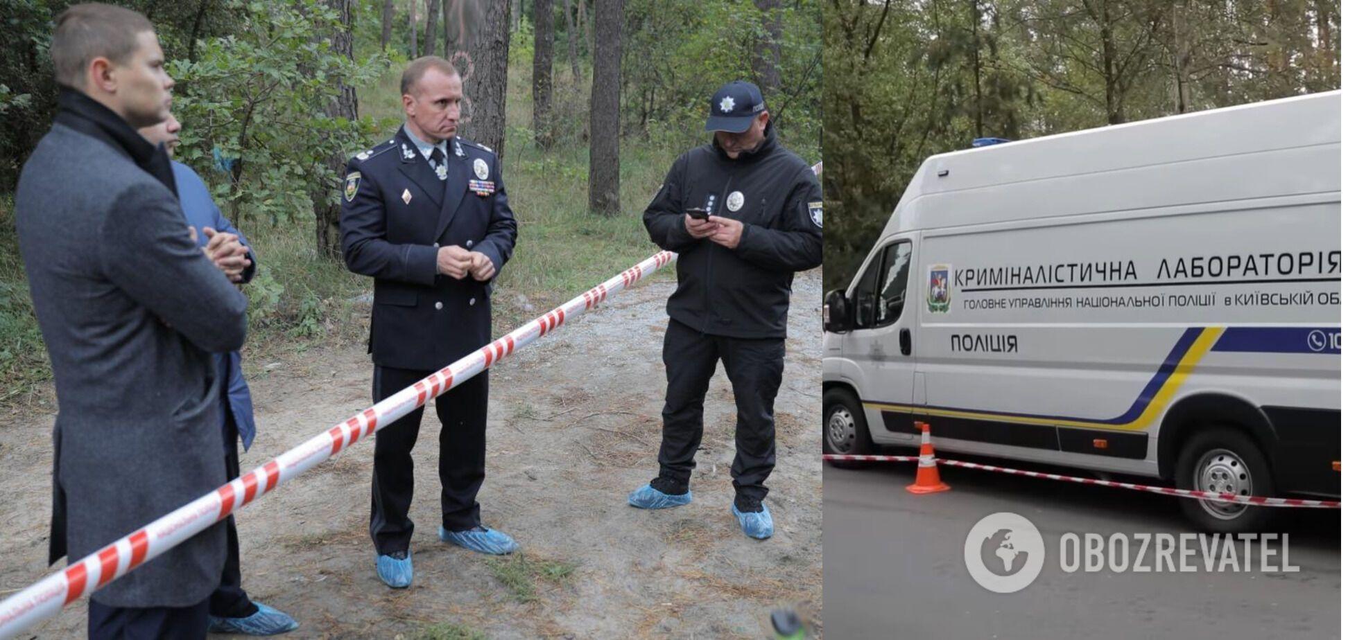 На месте находилось руководство полиции