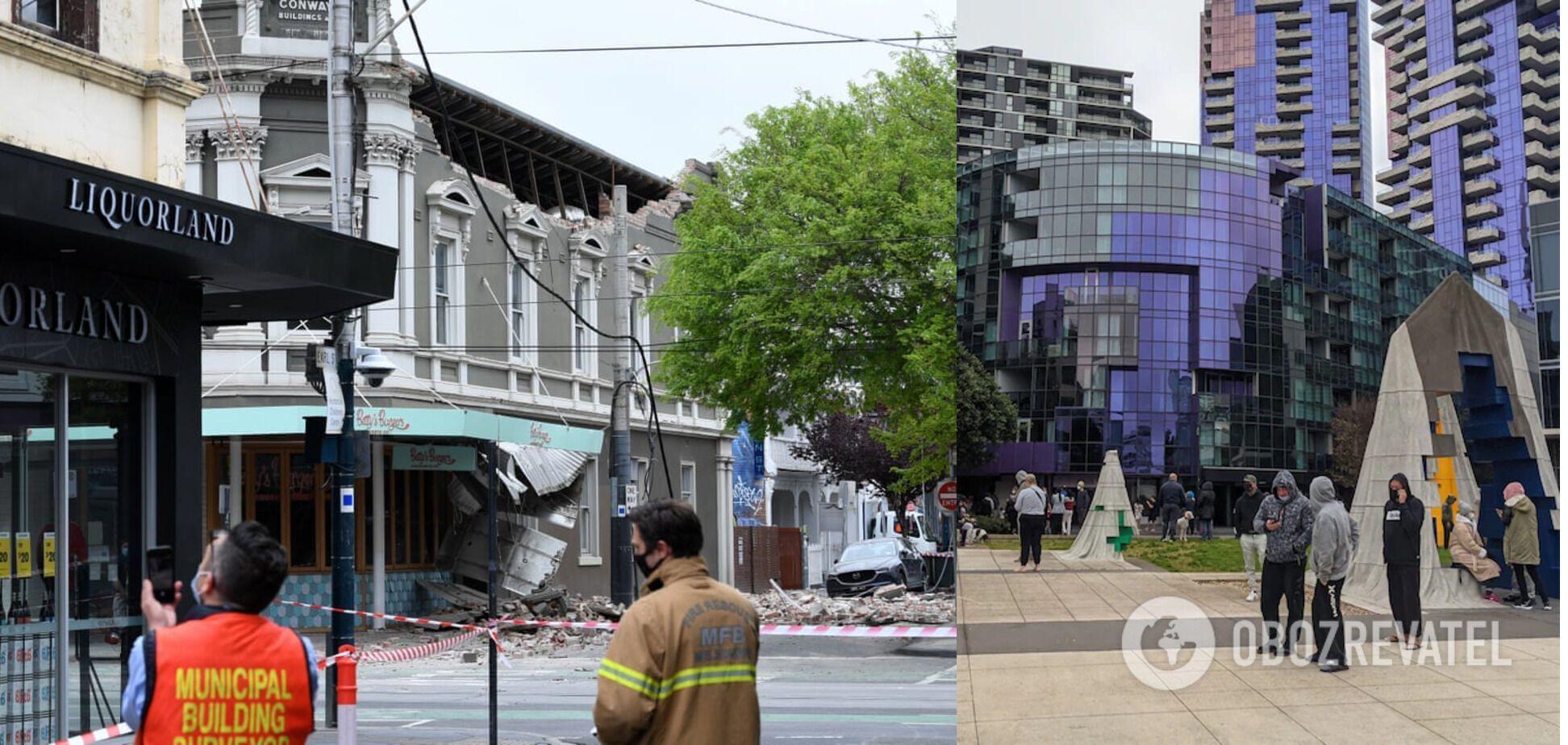 Люди в результате землетрясения не пострадали