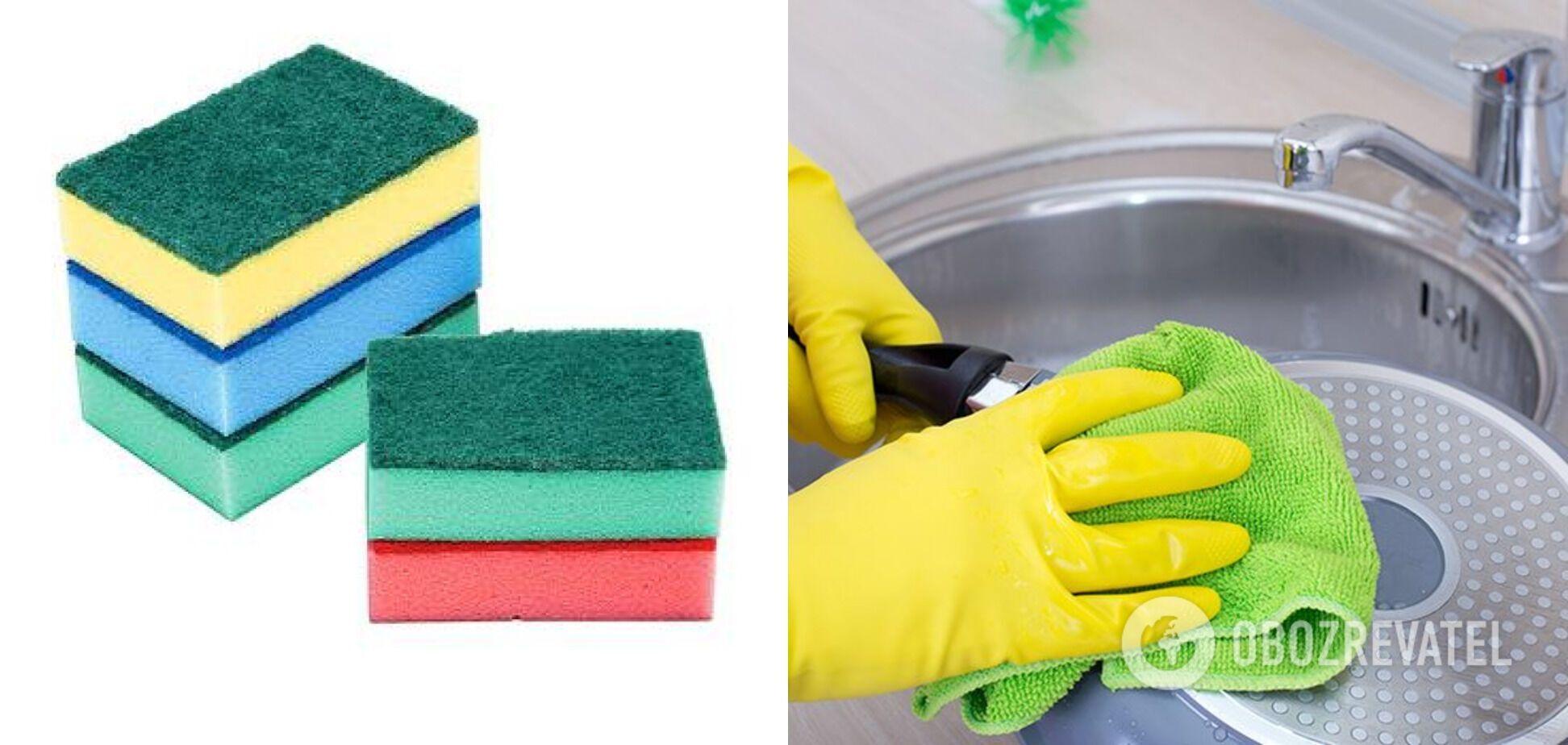 Мягкие губки для мытья
