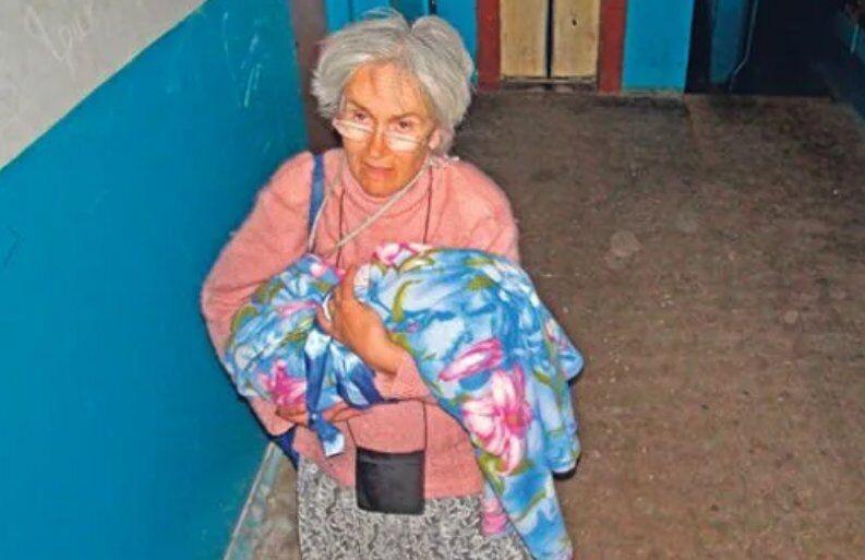 65-річна Валентина народила дівчинку