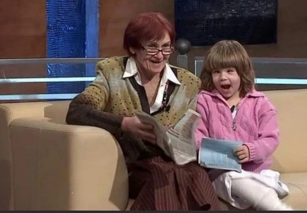 Українка Валентина з дочкою на ток-шоу