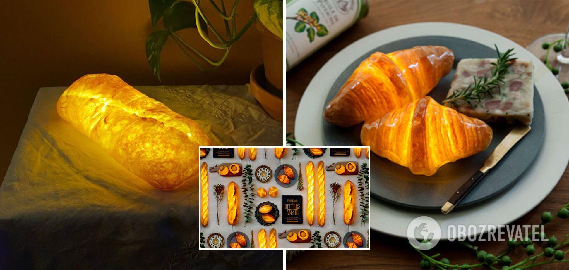 Лампы с использованием хлеба