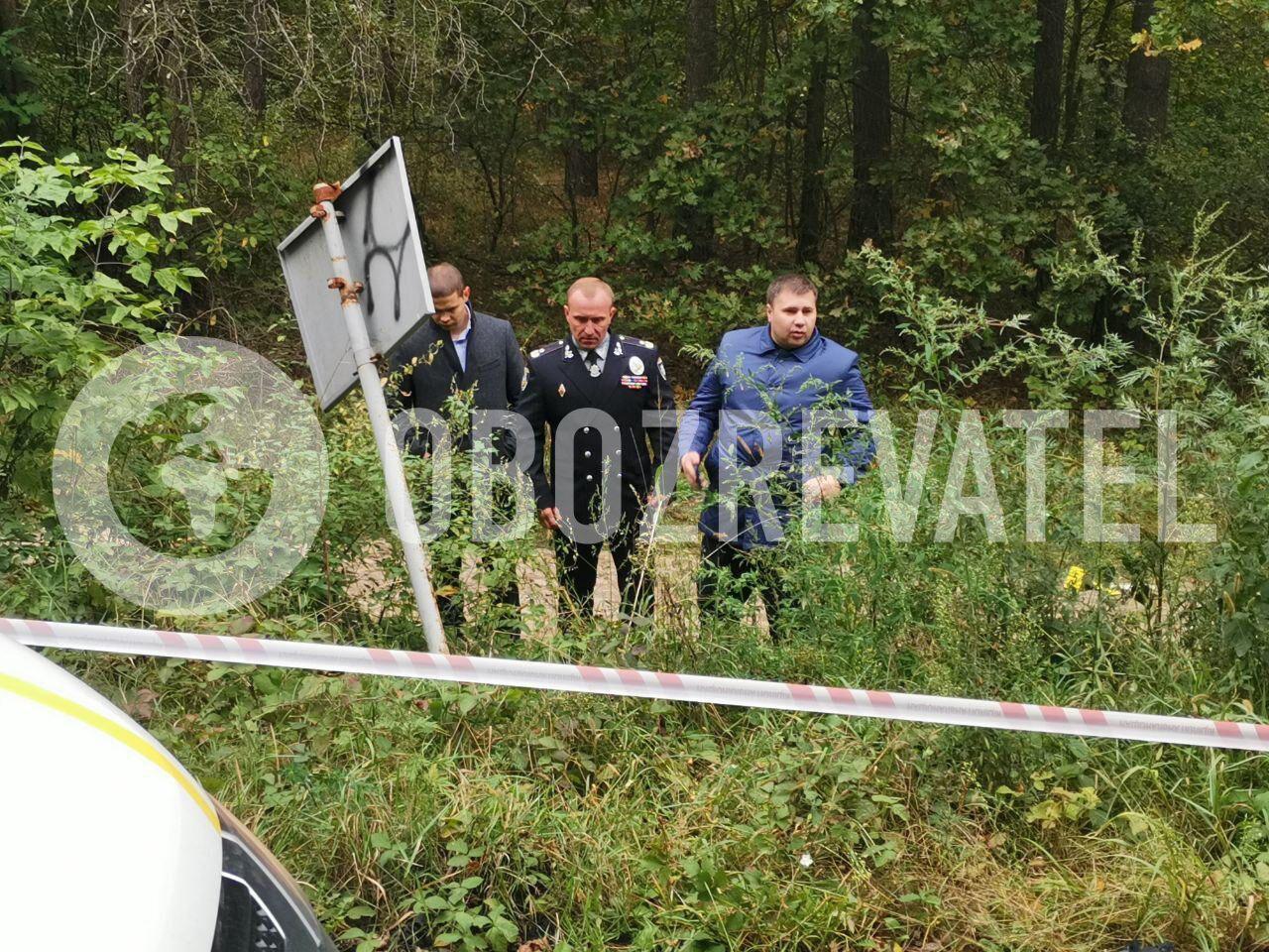 Машину обстріляли з лісу