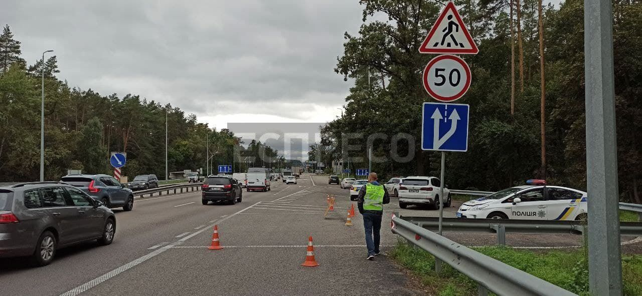 ДТП сталася на виїзді з Києва в бік Житомира.