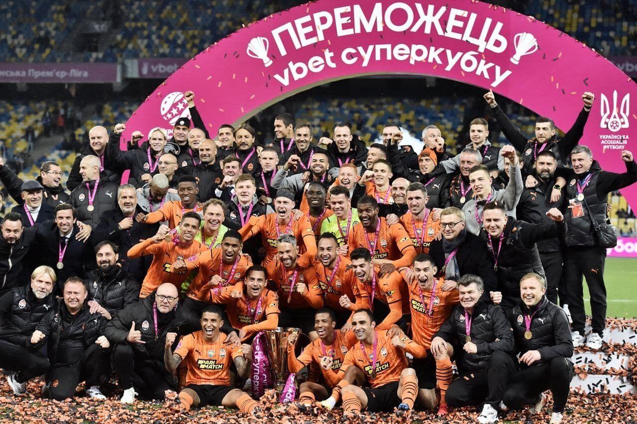 """""""Шахтер"""" в девятый раз выиграл Суперкубок Украины."""
