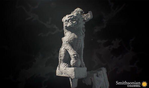Статуя лева