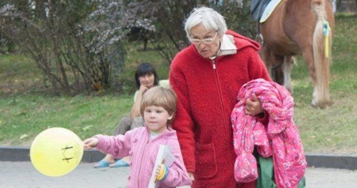 Українка Валентина з дочкою