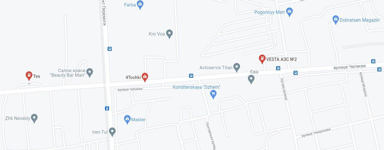 Інцидент трапився на території АЗС по вулиці Чапаєва в Євпаторії