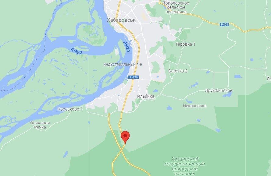 Самолет исчез с радаров в районе заповедника Хехцир