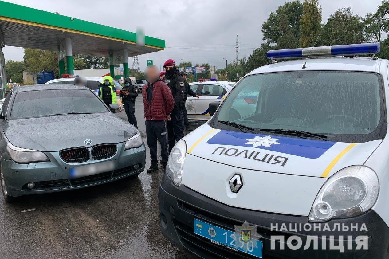 Подозреваемого задержали в Кременчуге.