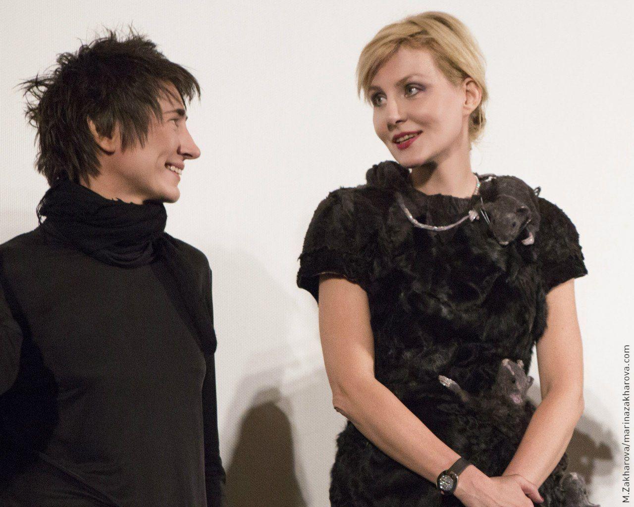 Рок-зірка Земфіра і режисер Рената Литвинова.