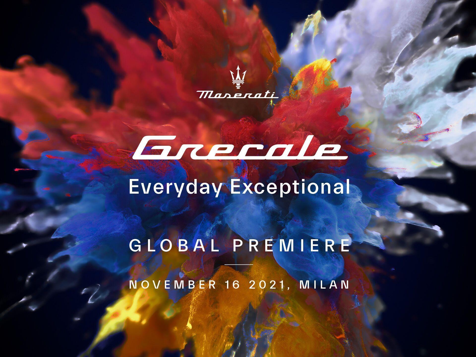Мировая премьера Grecale состоится в Милане 16 ноября