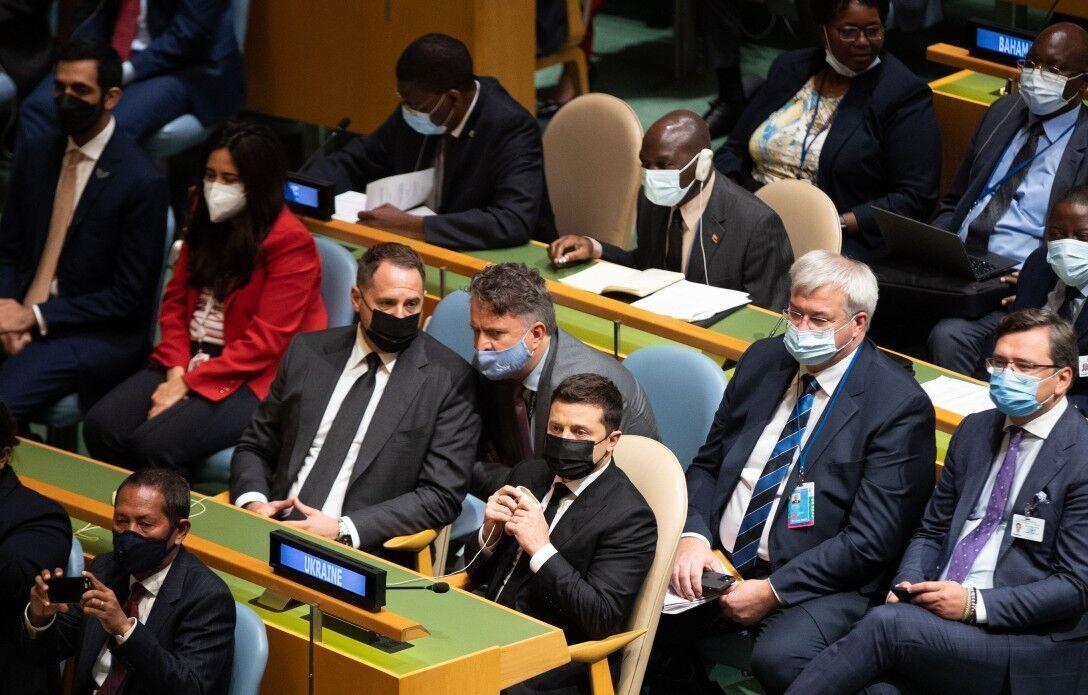 Українська делегація на Генасамблеї ООН