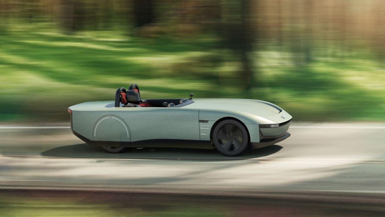 Консорциум из четырех автомобильных компаний Великобритании представил проект спортивного двухместного родстера Aura