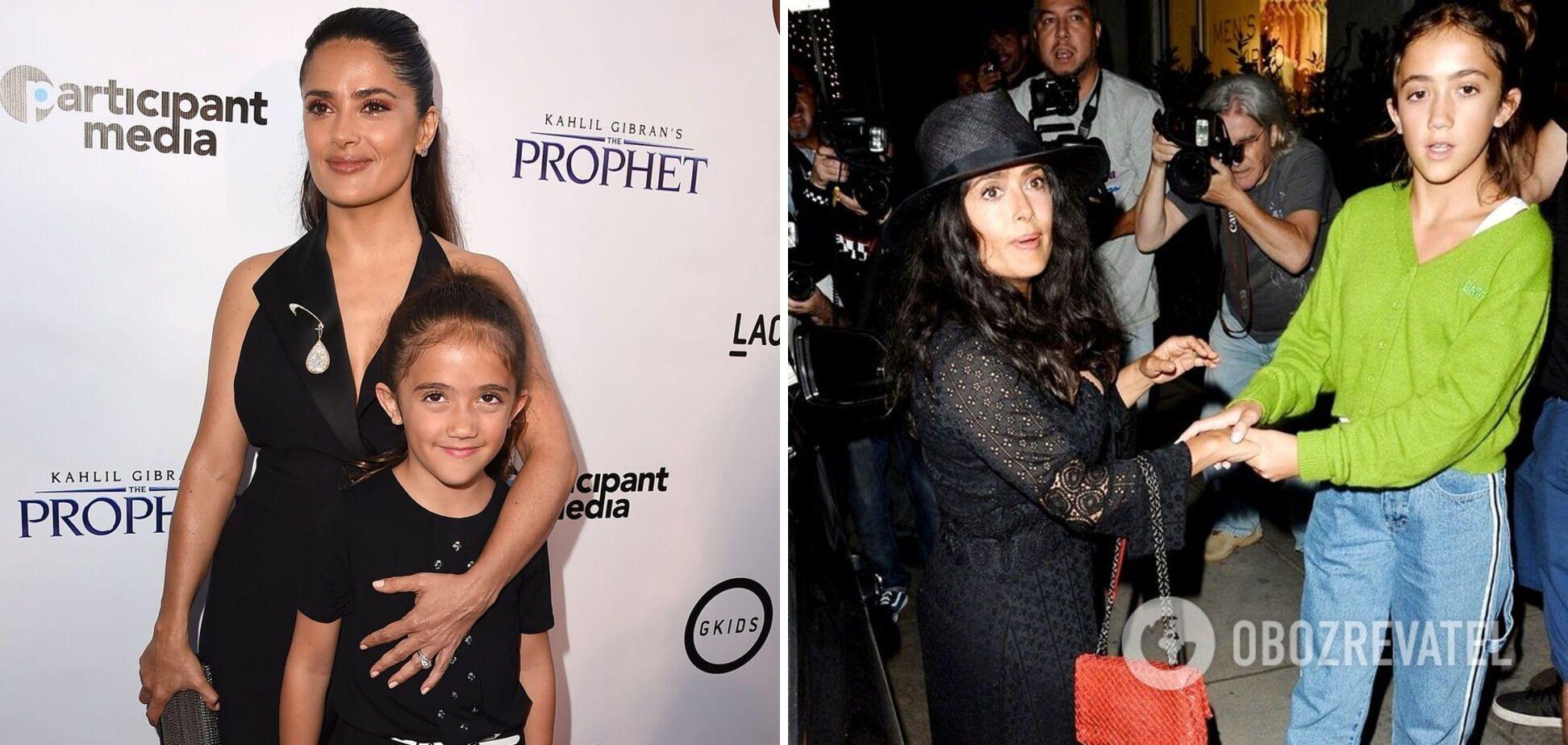 Сальма Хаєк народила доньку в 41 рік