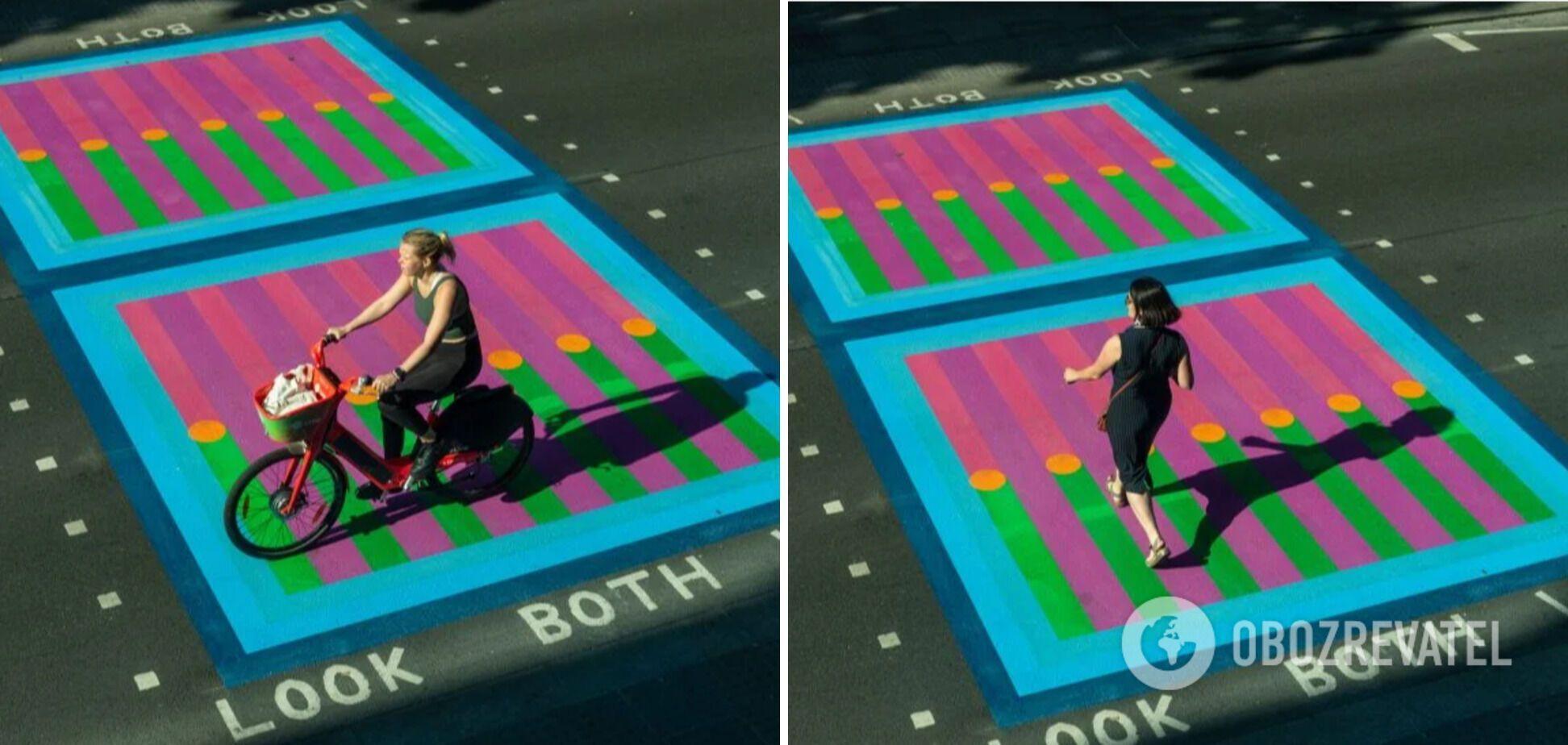Лондонські дороги, розмальовані в рамках фестивалю мистецтв