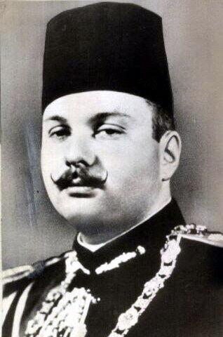 Фарук I, 1948 год