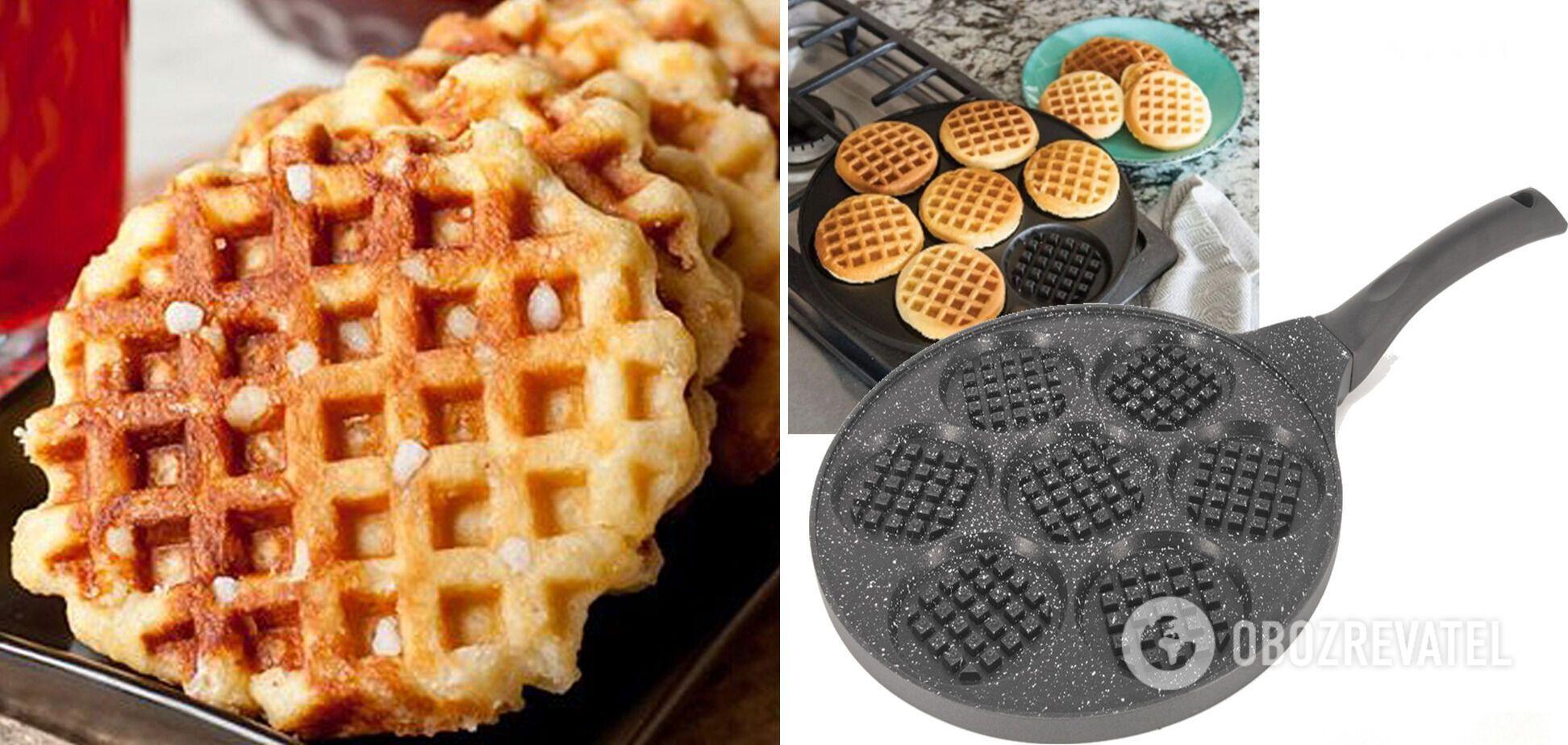 Сковорода для бельгийских вафель