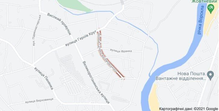 Конфлікт між пасажиром і таксистом виник на вулиці Гулака-Артемовського