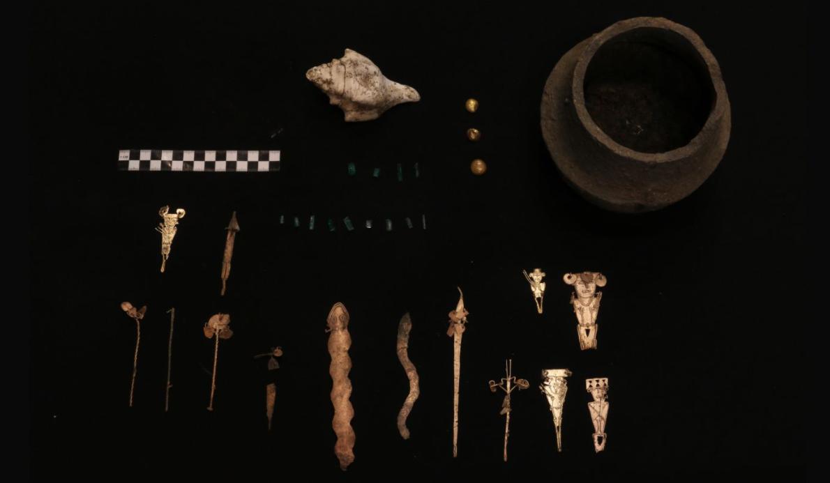 Археологи обнаружили храм и могилы в развалинах древнего города Муисков, расположенного недалеко от Боготы.