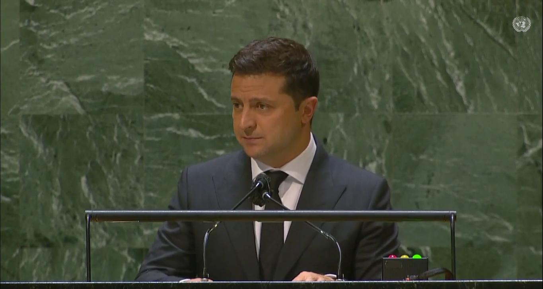 Президент Украины перед представителями стран ООН