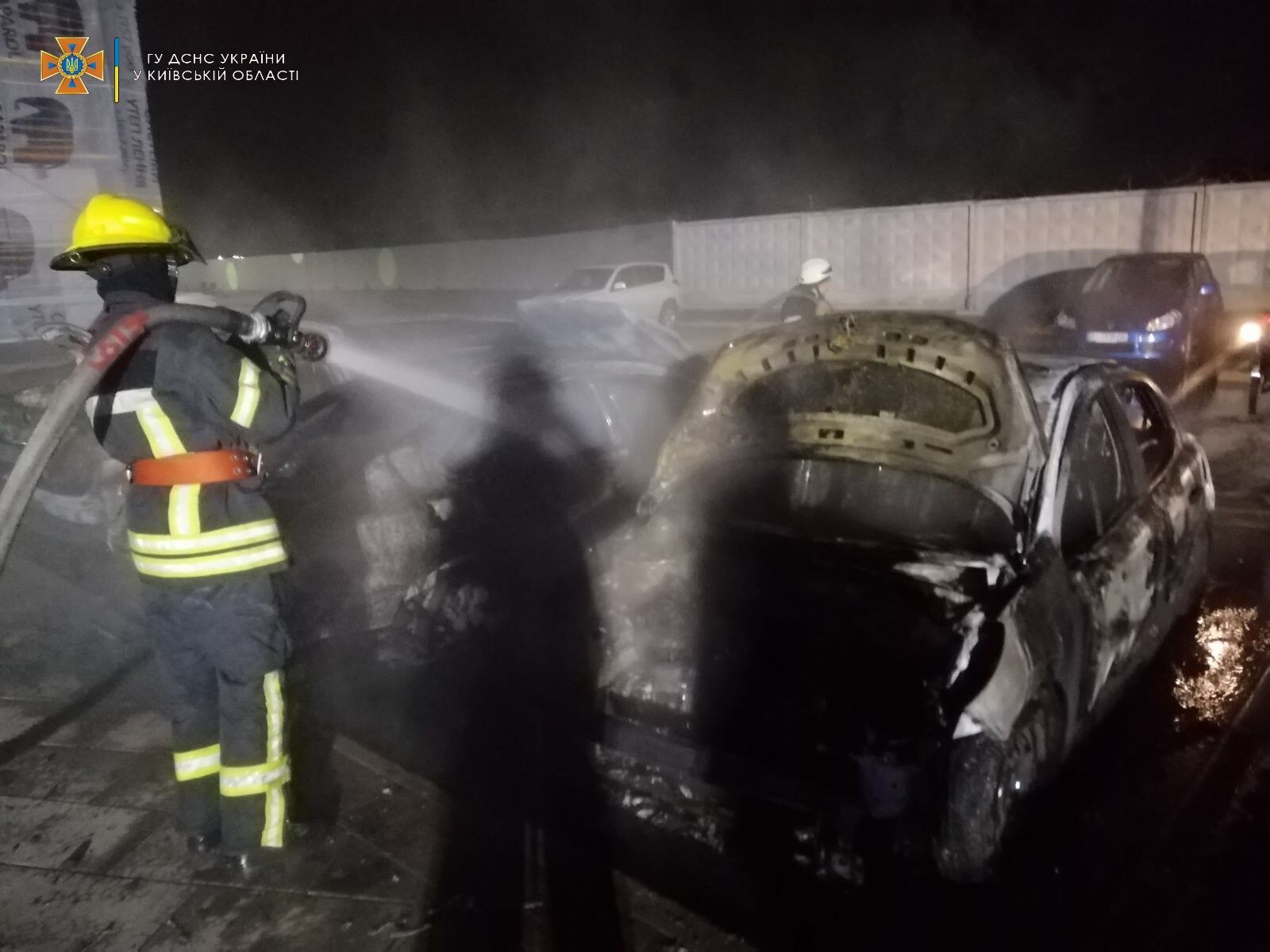 На гасіння пожежі знадобилося менш ніж годину.