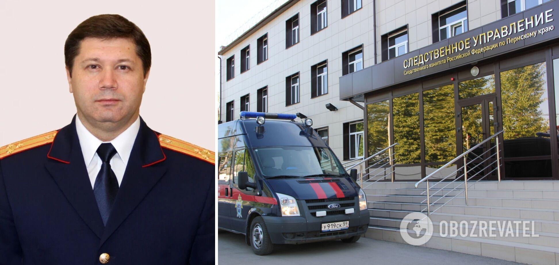 Сарапульцев возглавлял следственное управление СКР по Пермскому краю