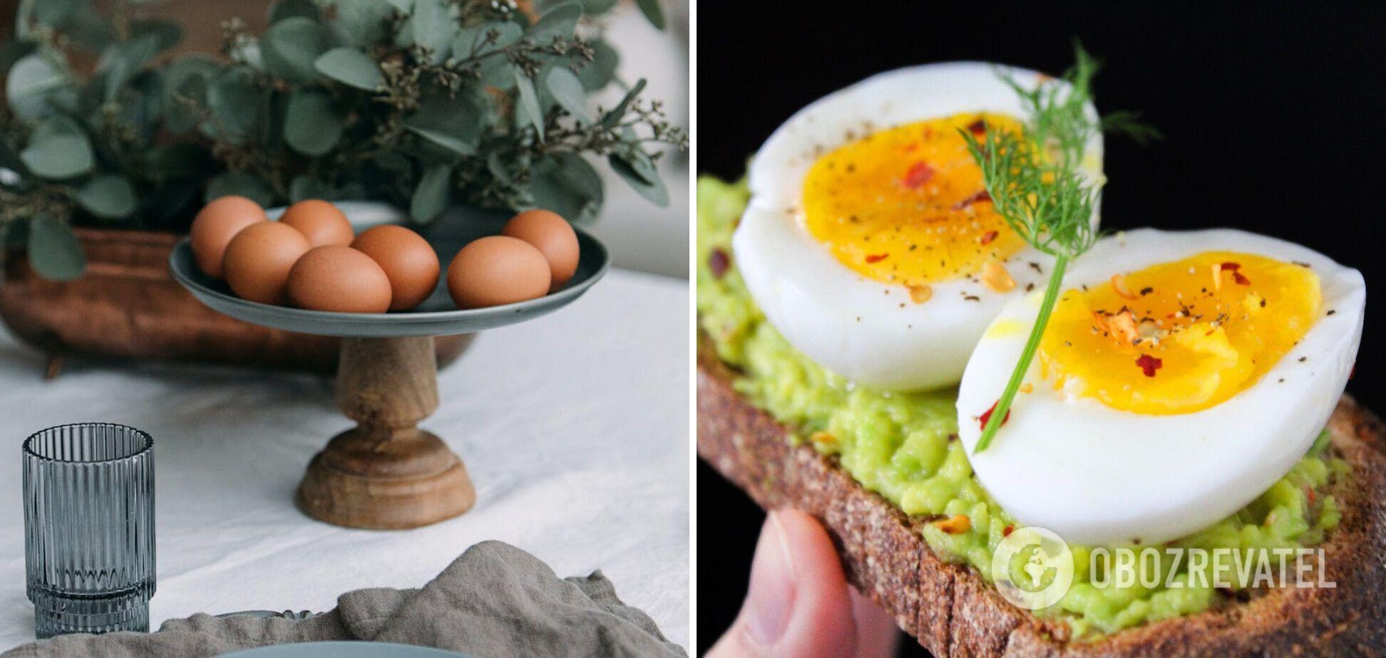 Продукт, який не нагрівають в мікрохвильовці – яйця