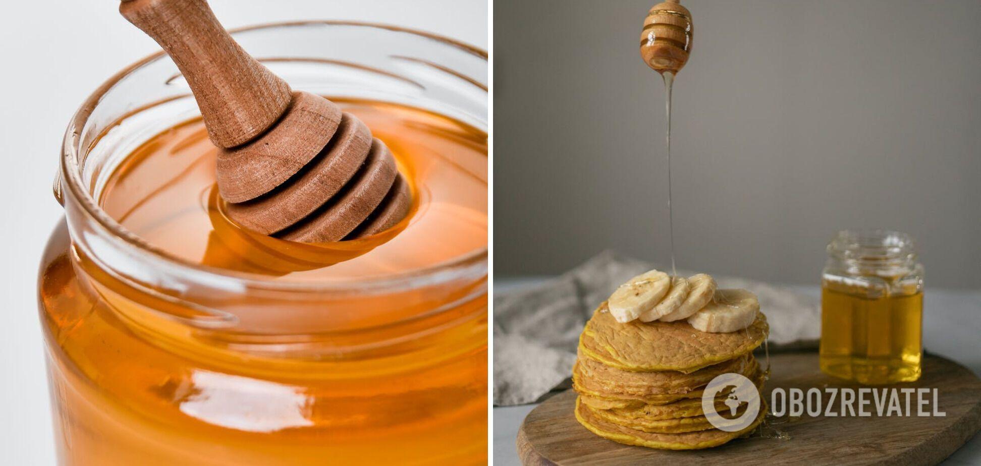 Мед не нагрівають в мікрохвильовці