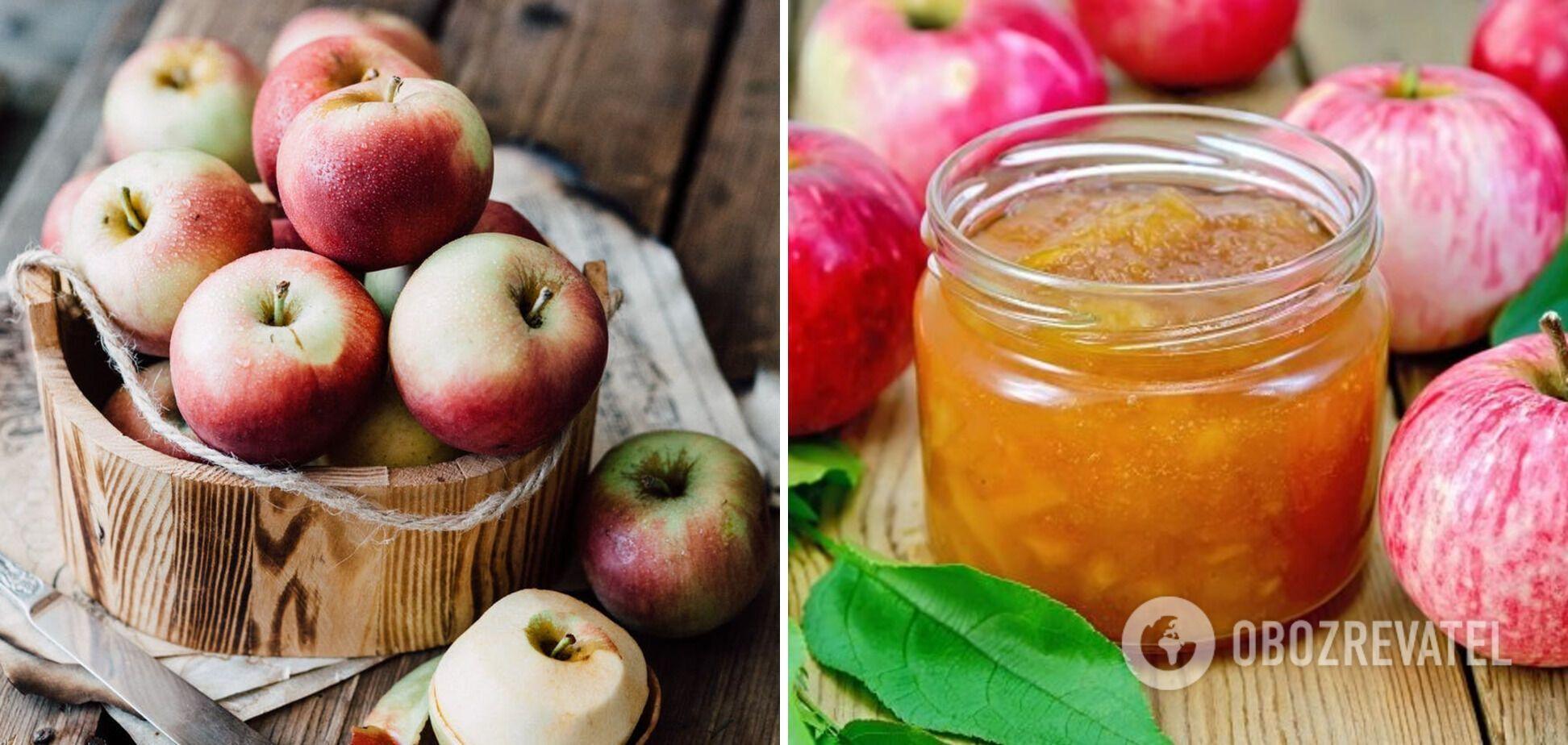 Яблучне повидло без цукру