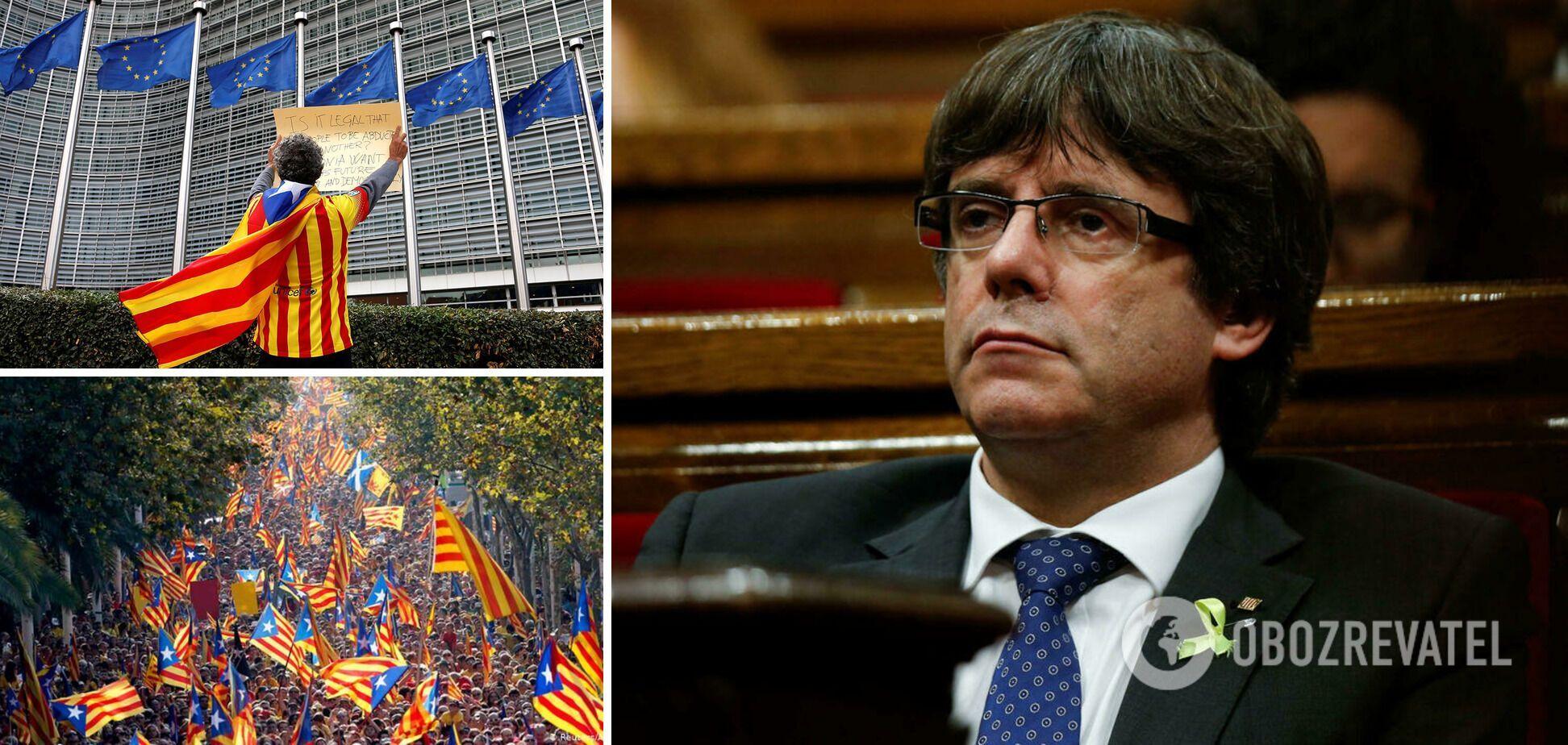 Пучдемона обвиняют в помощи организовать референдум о независимости Каталонии