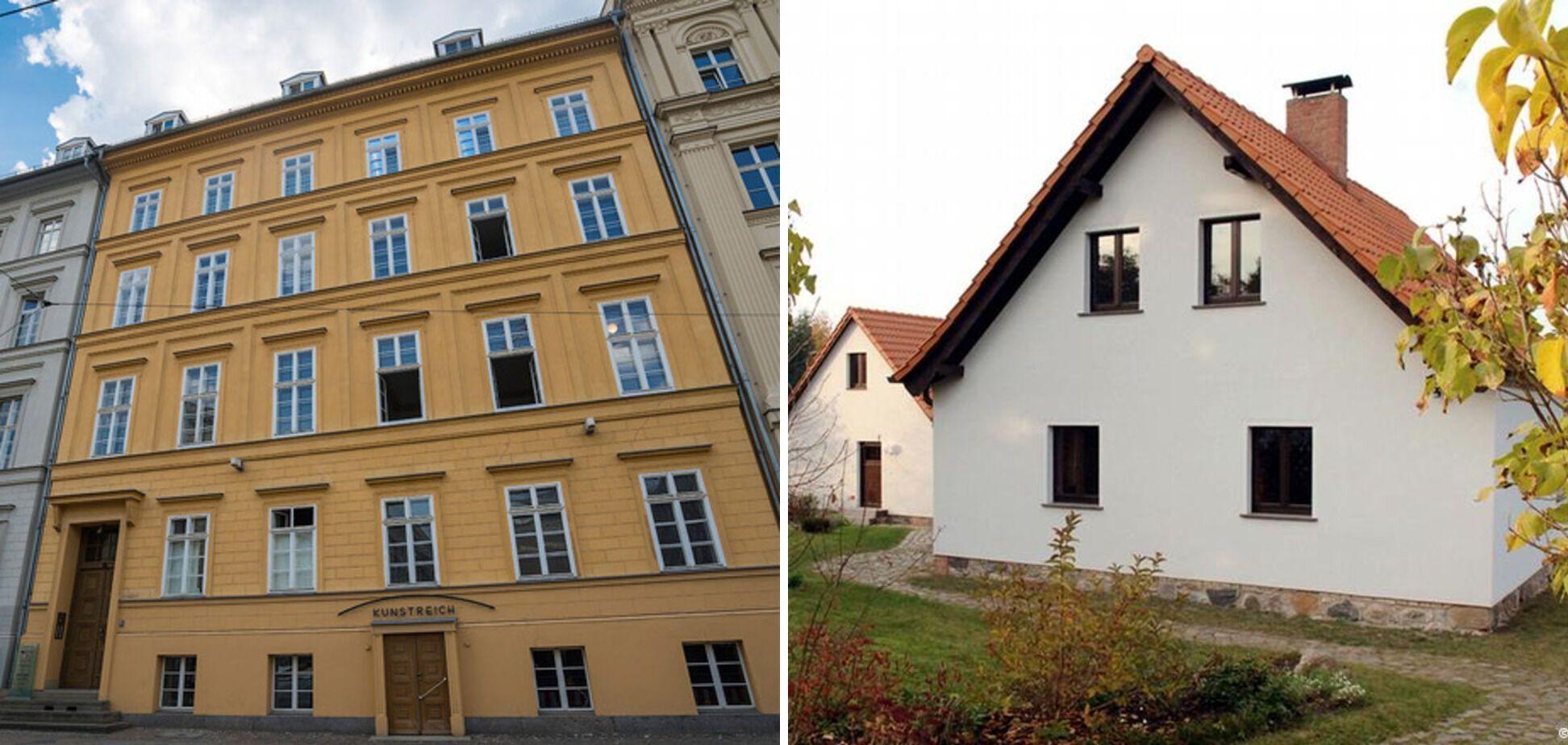 Квартира и загородный дом Меркель