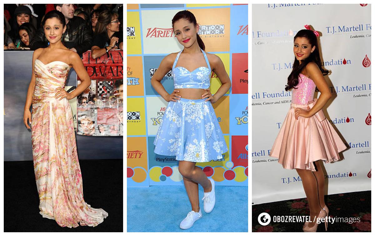 Арі полюбляє зодягати яскраві сукні.