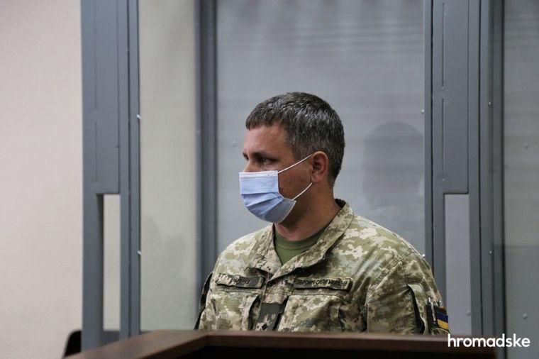 Роман Куценко в Печерському районному суді Києва, 27 серпня 2021 року