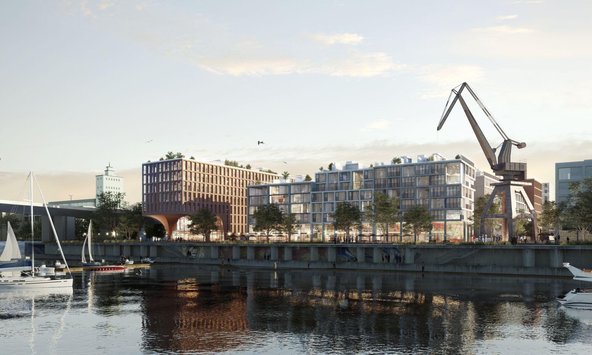 У Києві незабаром з'явиться нове місце для відпочинку й розваг біля води