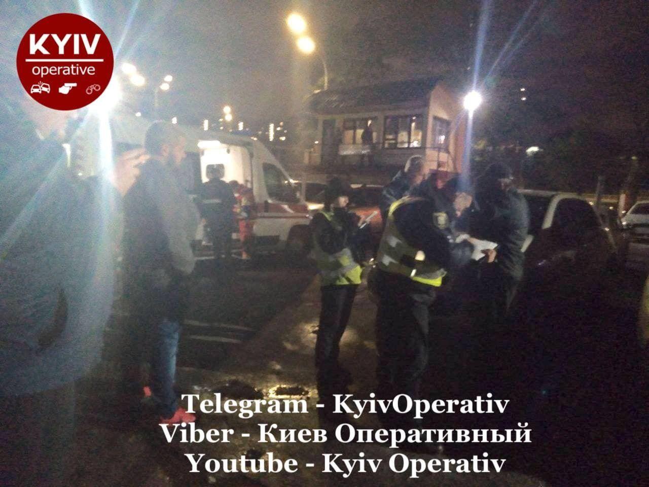 На месте инцидента работает полиция