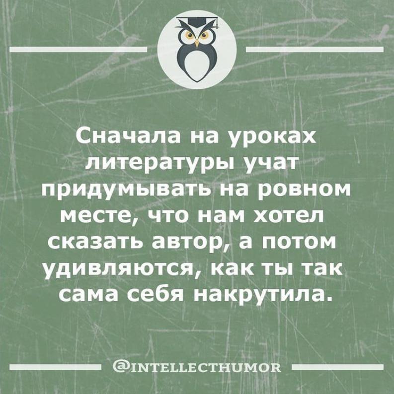 Мем о литературе