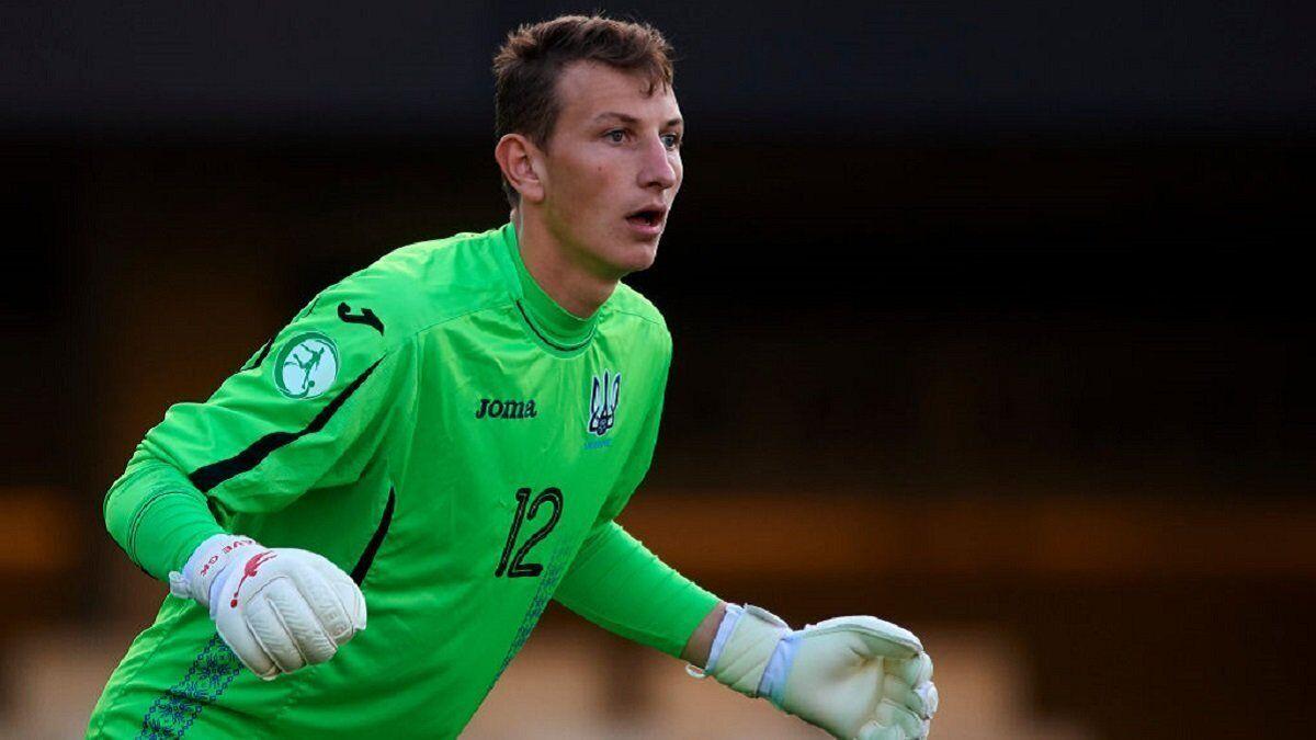 Дмитрий Ризнык в составе молодежной сборной
