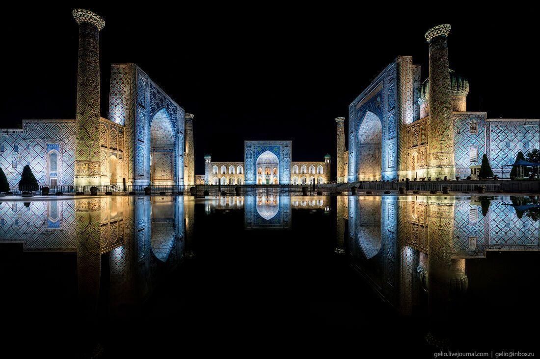 Самарканд находится в Списке всемирного наследия ЮНЕСКО