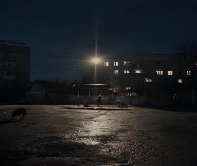 """Кадр из фильма """"Плохие дороги"""""""