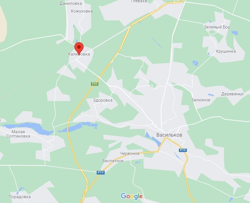 Авария произошла в Калиновке.