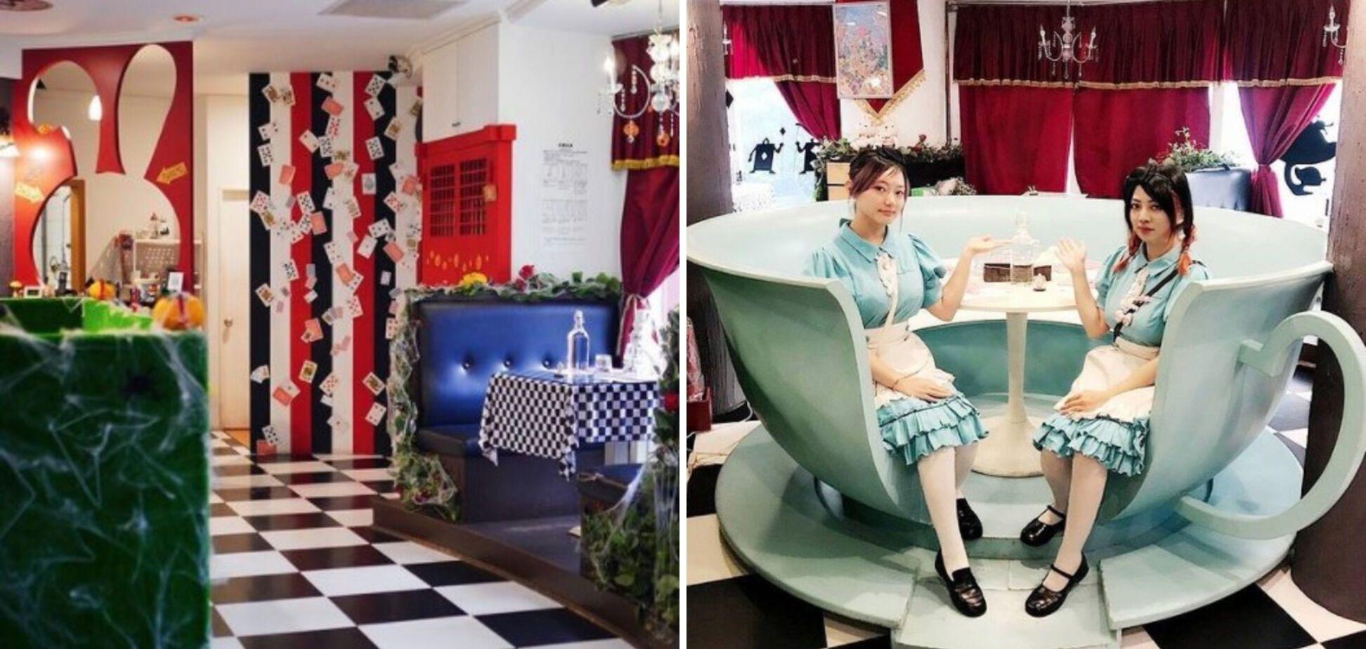 """Кофейня, где посетители могут """"окунуться в сказку""""."""