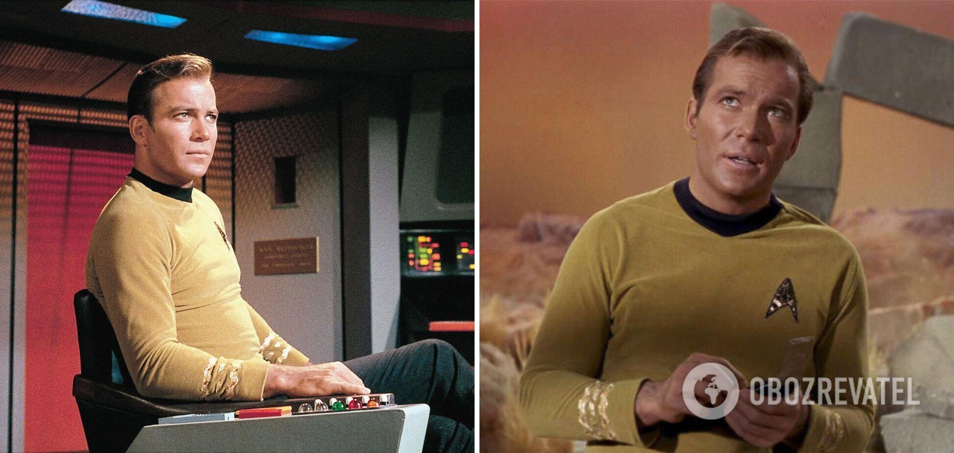 Шетнер у ролі капітана Кірка.