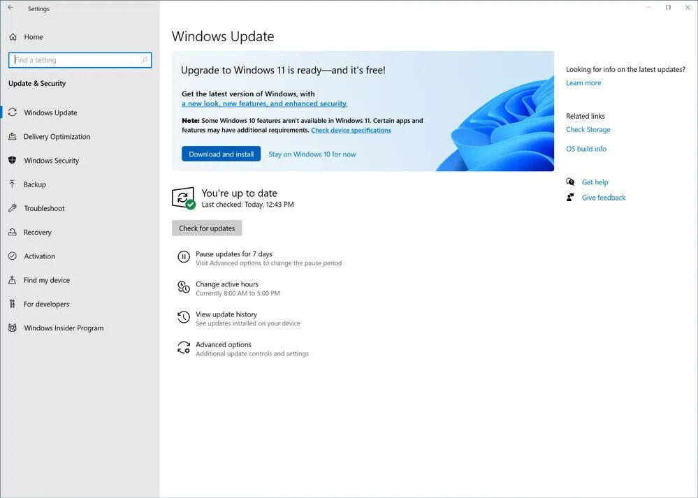 Приглашение к обновлению Windows 11 через Release Preview