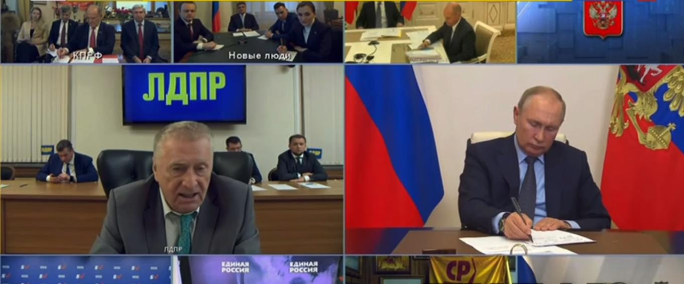 Жириновський і Путін