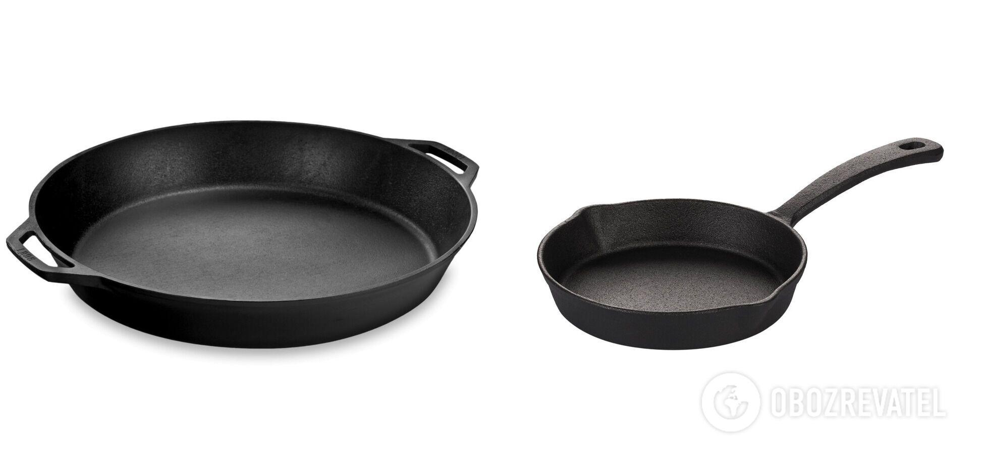 Чавунний посуд